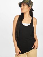 Urban Classics Tank Tops Ladies Loose èierna