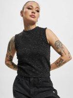 Urban Classics Tank Tops Ladies Space Dye black
