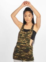 Urban Classics Tank Tops Ladies Camo Loose camuflaje