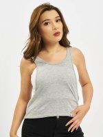 Urban Classics Tank Tops Ladies Loose grey