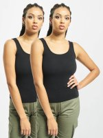 Urban Classics Tank Tops 2-Pack Basic negro