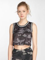 Urban Classics top Mesh Crop camouflage