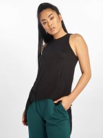 Urban Classics top Ladies HiLo Viscose zwart