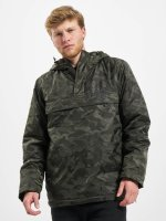 Urban Classics Übergangsjacke Padded Camo Pull Over camouflage