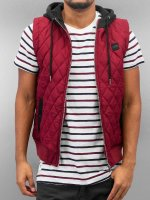 Urban Classics Weste Diamond Quilted rot
