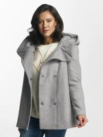 Vero Moda Parka vmCollar Wool grijs