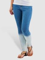 Vero Moda Skinny Jeans vmSeven Dip Dye Ankle blue