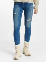 Vero Moda Slim Fit Jeans vmSeven blau