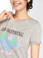 Vero Moda T-Shirt vomPolly gray