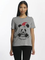 Vero Moda T-Shirt vmPanda gris