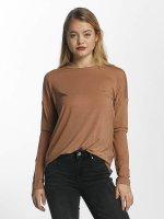 Vero Moda T-Shirt manches longues vmBava brun