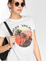 Vero Moda T-Shirt vomPolly white