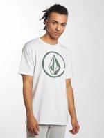 Volcom T-Shirt Circle Stone blanc