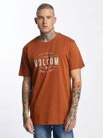 Volcom T-Shirt Garage Club braun