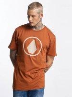 Volcom t-shirt Burnt Basic bruin