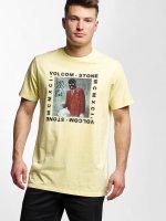 Volcom t-shirt Scarro geel