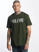 Volcom T-skjorter Weave oliven
