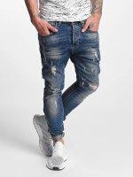 VSCT Clubwear Облегающие джинсы Thor синий