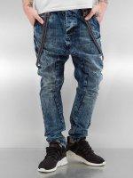 VSCT Clubwear Antifit Brad Slim with Supspenders blau