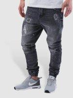 VSCT Clubwear Antifit-farkut Norton Cuffed Slim harmaa