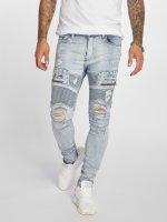VSCT Clubwear Antifit-farkut New Liam Biker Denim sininen