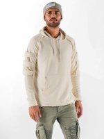 VSCT Clubwear Hoodie Raw Edge Design beige