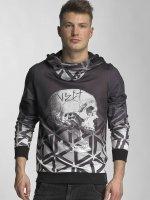 VSCT Clubwear Hoodie Twisted Skull Matix grey