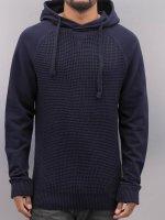 VSCT Clubwear Hoody Knit Sweat Waffle blauw