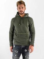 VSCT Clubwear Hoody Biker Oilwash khaki