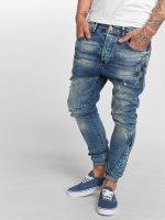 VSCT Clubwear Jean carotte antifit Liam Biker bleu