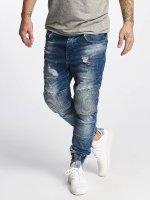 VSCT Clubwear Jean carotte antifit Noah Biker bleu