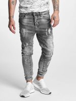 VSCT Clubwear Jean carotte antifit Chase 5 Pocket Denim gris