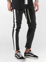 VSCT Clubwear joggingbroek Stripe zwart