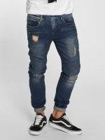 VSCT Clubwear Slim Fit Jeans Liam Biker blauw
