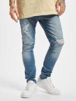 VSCT Clubwear Slim Fit Jeans Thor Track modrý