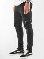 VSCT Clubwear Spodnie Chino/Cargo Thor Biker czarny
