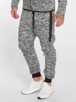 VSCT Clubwear Spodnie do joggingu Melange Techfleece szary