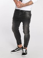 VSCT Clubwear Straight Fit Jeans Chase Heritage čern