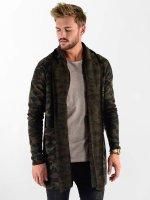 VSCT Clubwear Strickjacke Open Knit camouflage