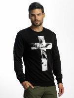 VSCT Clubwear Sweat & Pull Cross Palm Loose noir