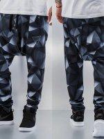 VSCT Clubwear Sweat Pant 3-D Black Geomatrix black
