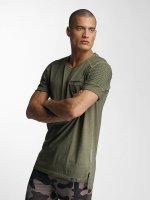 VSCT Clubwear T-paidat Biker khakiruskea