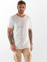 VSCT Clubwear T-shirt Cubic Round bianco