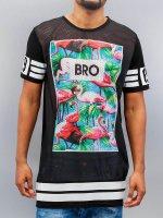 VSCT Clubwear T-Shirt Flamingo Bro Oversize noir