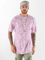 VSCT Clubwear T-Shirt Camo Washed rouge