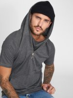 VSCT Clubwear T-Shirty Hooded Athletic Top szary