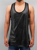 VSCT Clubwear Tank Tops Allover Leathermesh negro