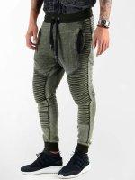 VSCT Clubwear Verryttelyhousut Biker Jersey khakiruskea