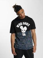 Who Shot Ya? T-Shirt Darkcamou noir