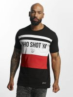 Who Shot Ya? T-Shirt Font noir